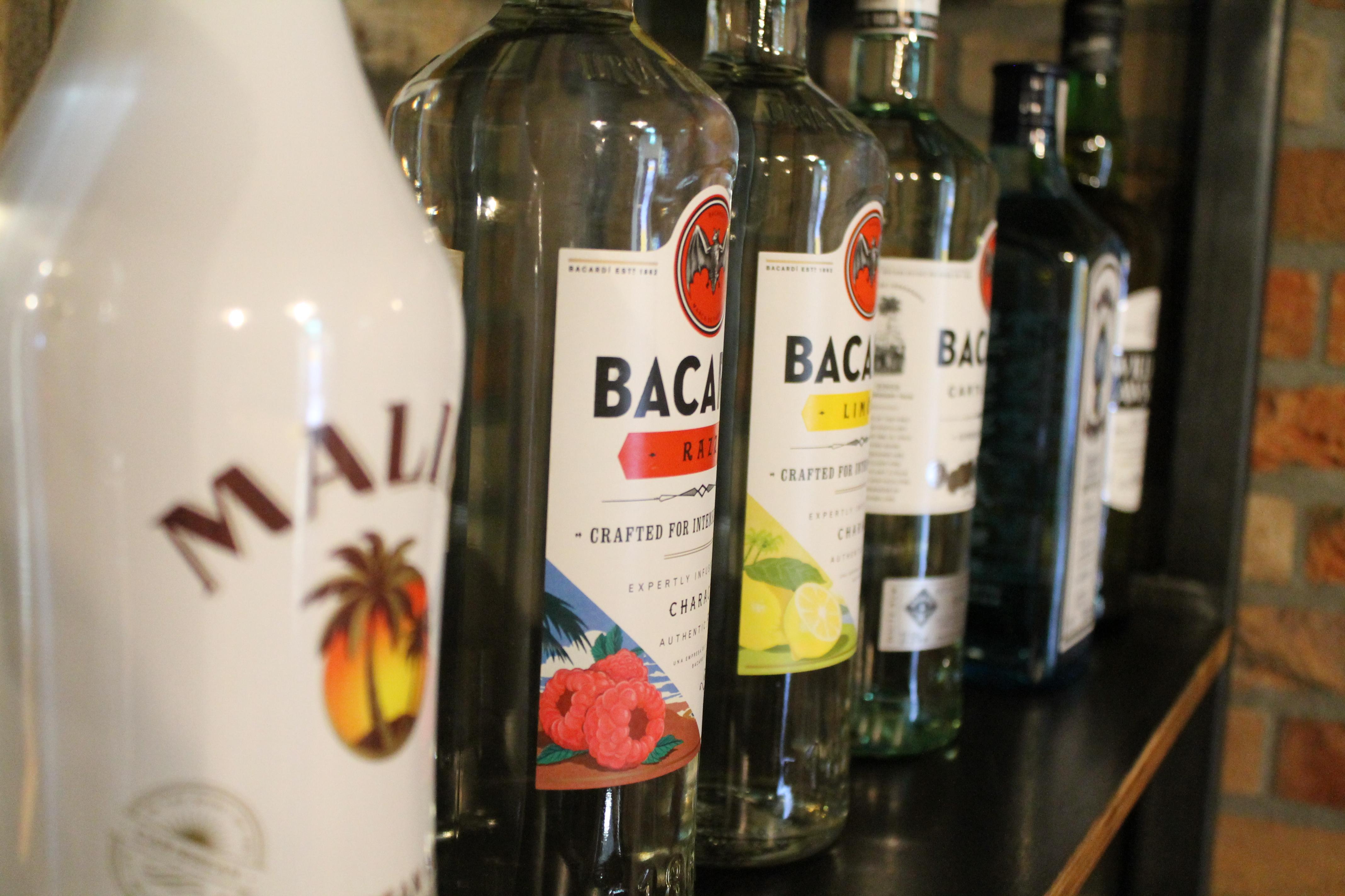 Bacardi bij Café Lalalaa in Den Bosch