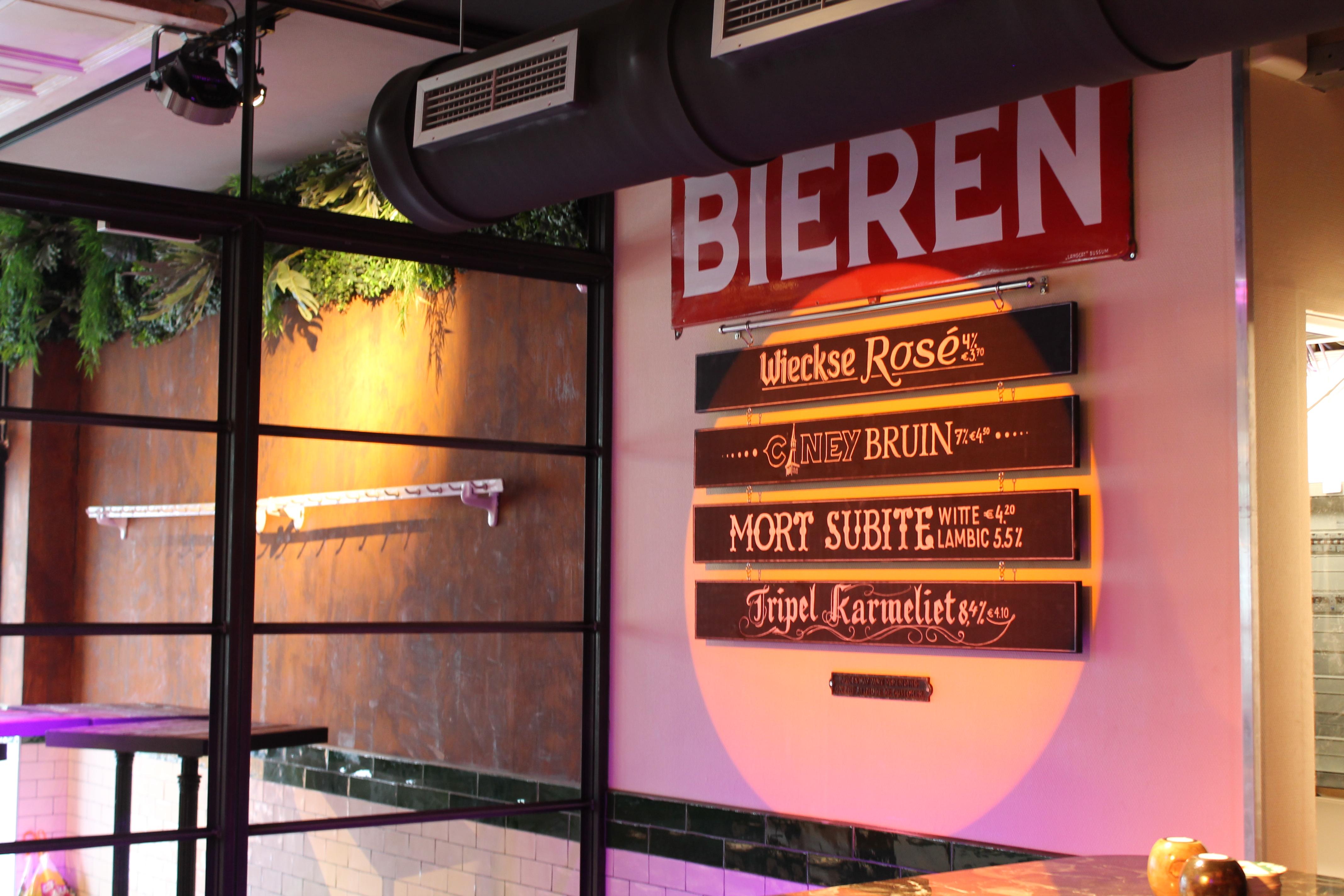 Speciaalbier bij Café Lalalaa in Den Bosch