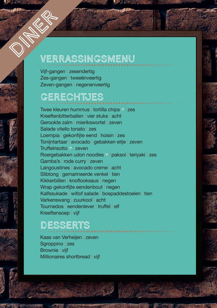 Diner bij Café Lalalaa in Den Bosch