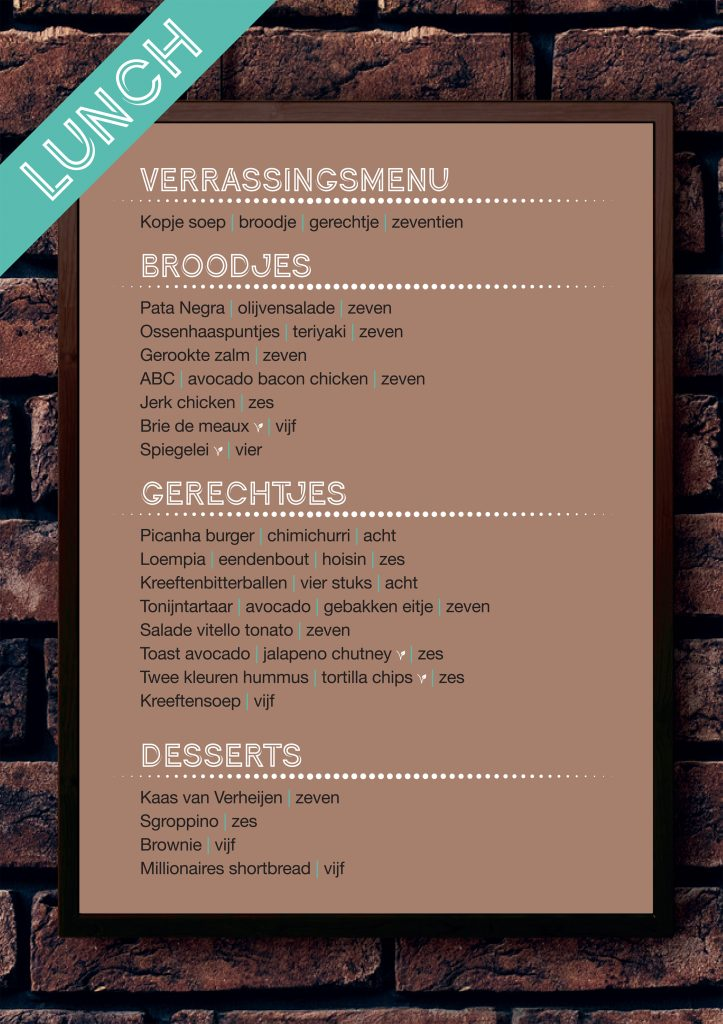 Lunch bij Café Lalalaa in Den Bosch